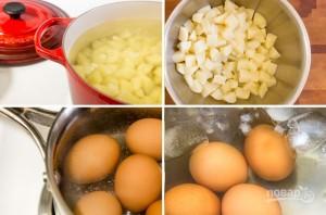 Cалат из картофеля - фото шаг 1