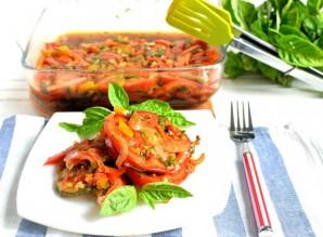 Острые пикантные цукини с овощами - фото шаг 9