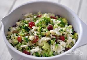 Хрустящий салат с брокколи - фото шаг 5