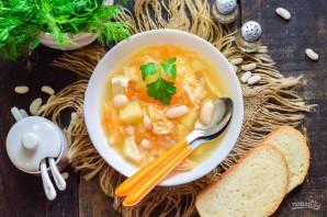 Фасолевый суп для детей - фото шаг 10