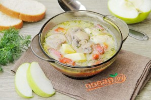 Куриный суп с яблоками - фото шаг 11