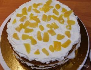 Торт с подтеками - фото шаг 4