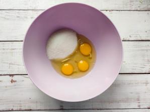 Творожные кексы с клубникой - фото шаг 2
