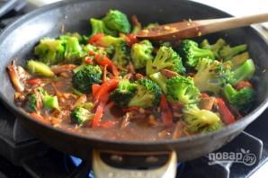 Овощи стир-фрай по-китайски - фото шаг 8