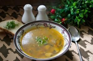 Суп на грибном бульоне - фото шаг 8