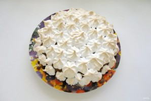 Ореховый пирог с меренгой - фото шаг 14