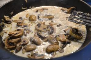 Эскалоп с грибами - фото шаг 7