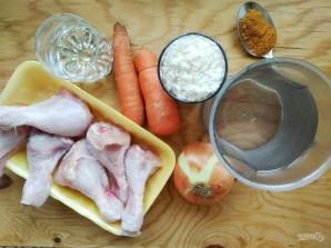 Куриные голени с рисом в духовке - фото шаг 1