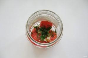 Консервированные помидоры, как свежие - фото шаг 11