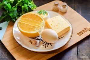 Салат с апельсином и чесноком - фото шаг 1