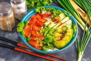 Боул с лососем и авокадо - фото шаг 7