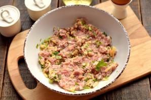 Конвертики из лаваша с мясом и сыром - фото шаг 4