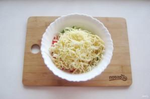 Крабовый салат без яиц - фото шаг 6