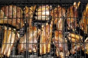 Ребрышки барбекю на мангале - фото шаг 7