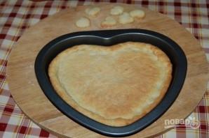 Пирог с белым шоколадом на День Валентина - фото шаг 6