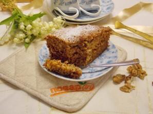Медово-ореховый пирог на кефире - фото шаг 11