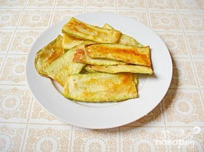 Жареные кабачки с чесночным соусом - фото шаг 3