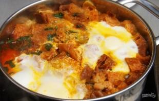 Испанский чесночный суп с перцем - фото шаг 9