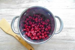 Варенье из замороженной вишни без косточек - фото шаг 3