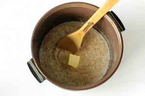 Пшеничная каша на молоке в мультиварке - фото шаг 5