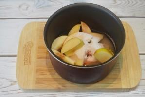 Варенье из яблок и грецких орехов в мультиварке - фото шаг 2