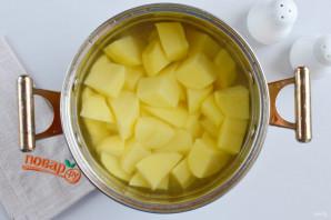 Фаршированные картофельные оладьи - фото шаг 2
