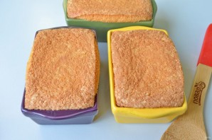 Манник с бруснично-медовым соусом - фото шаг 11