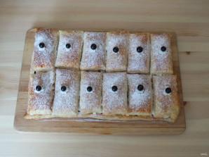 Пирожные с кремом и ягодами - фото шаг 14