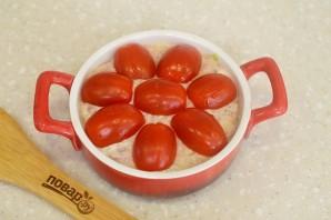 Кабачки в духовке с фаршем и помидорами - фото шаг 7