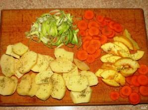Овощи, запеченные в духовке с сыром - фото шаг 2