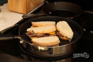Горячие бутерброды на завтрак - фото шаг 4