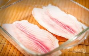 Рыба, запеченная с лимонным маслом - фото шаг 1