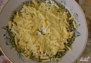 Куриный салат с солеными огурцами - фото шаг 7