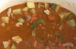 Суп с курицей и киноа - фото шаг 5