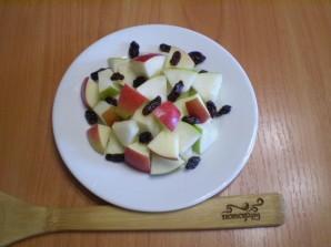 Салат с грушами и яблоками - фото шаг 7