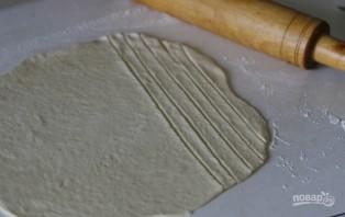 Пирог с повидлом из дрожжевого теста - фото шаг 3