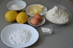 Итальянское лимонное печенье - фото шаг 1