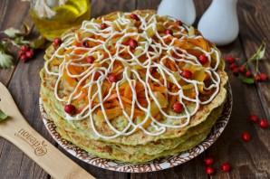 Торт из кабачков с морковью и луком - фото шаг 12