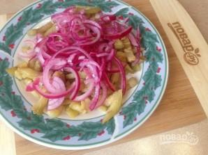 Салат из баклажана с яйцом - фото шаг 7