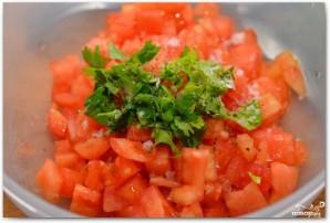 Салат с тунцом и авокадо - фото шаг 4