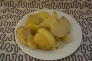 Печень с картошкой - фото шаг 4