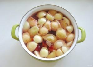 Компот из яблок, груш и алычи - фото шаг 5