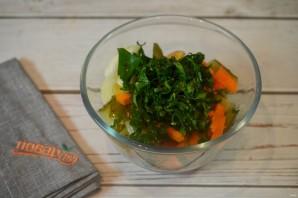 Судак, запеченный с овощами и картофелем - фото шаг 5