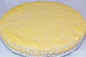 Торт с готовыми коржами - фото шаг 4