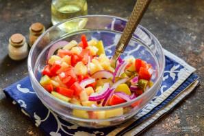 Селянский салат - фото шаг 6