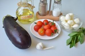 Сицилийский салат с баклажанами - фото шаг 1