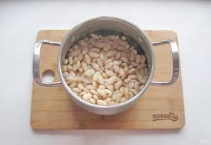 Фасоль с охотничьими колбасками - фото шаг 4