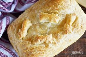 Пирог с рыбой и луком в горчичном соусе - фото шаг 11