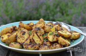 Картофель на гриле в маринаде - фото шаг 6