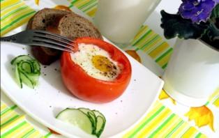 Яичница в помидорах в духовке - фото шаг 3